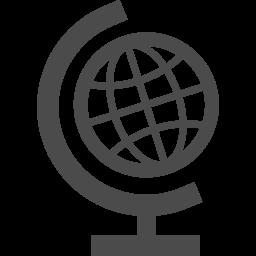地球儀の無料アイコンその3 アイコン素材ダウンロードサイト Icooon Mono 商用利用可能なアイコン素材が無料 フリー ダウンロードできるサイト