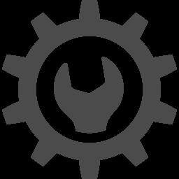Gear Pictogram 2 アイコン素材ダウンロードサイト Icooon Mono 商用利用可能なアイコン素材が無料 フリー ダウンロードできるサイト