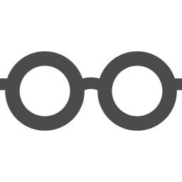 丸眼鏡のフリーアイコン アイコン素材ダウンロードサイト Icooon Mono 商用利用可能なアイコン素材が無料 フリー ダウンロードできるサイト