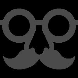 鼻眼鏡のフリーアイコン アイコン素材ダウンロードサイト Icooon Mono 商用利用可能なアイコン 素材が無料 フリー ダウンロードできるサイト