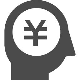 お金が大好きな人のアイコン 円編 アイコン素材ダウンロードサイト Icooon Mono 商用利用可能なアイコン素材が無料 フリー ダウンロードできるサイト