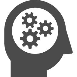 考える人のアイコン アイコン素材ダウンロードサイト Icooon Mono 商用利用可能なアイコン素材が無料 フリー ダウンロードできるサイト