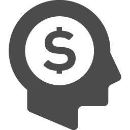 ドルのことばかり考える人 アイコン素材ダウンロードサイト Icooon Mono 商用利用可能なアイコン素材が無料 フリー ダウンロードできるサイト