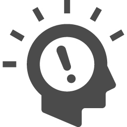 いい考えが浮かんだときのアイコン2 アイコン素材ダウンロードサイト Icooon Mono 商用利用可能なアイコン 素材が無料 フリー ダウンロードできるサイト