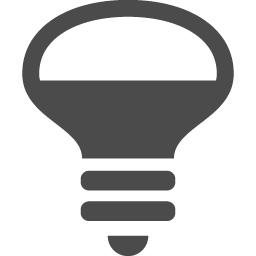 照明の無料アイコンです アイコン素材ダウンロードサイト Icooon Mono 商用利用可能なアイコン 素材が無料 フリー ダウンロードできるサイト