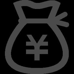 フリーのドル袋アイコン 円 アイコン素材ダウンロードサイト Icooon Mono 商用利用可能なアイコン素材が無料 フリー ダウンロードできるサイト