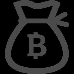 フリーのドル袋アイコン ビットコイン アイコン素材ダウンロードサイト Icooon Mono 商用利用可能なアイコン 素材が無料 フリー ダウンロードできるサイト
