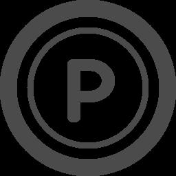 コイン型のポイントアイコン アイコン素材ダウンロードサイト Icooon Mono 商用利用可能なアイコン素材 が無料 フリー ダウンロードできるサイト