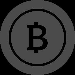 白抜きのビットコインアイコン2 アイコン素材ダウンロードサイト Icooon Mono 商用利用可能なアイコン 素材が無料 フリー ダウンロードできるサイト