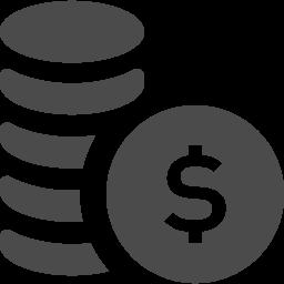 ドルを積み上げたお金アイコン2 アイコン素材ダウンロードサイト Icooon Mono 商用利用可能なアイコン素材が無料 フリー ダウンロードできるサイト