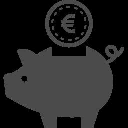 商用フリーのブタの貯金箱アイコン アイコン素材ダウンロードサイト Icooon Mono 商用利用可能なアイコン素材が無料 フリー ダウンロードできるサイト