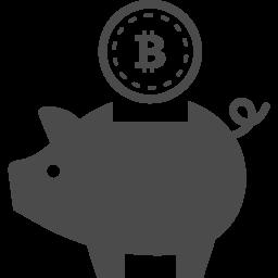 ビットコインの貯金箱アイコン アイコン素材ダウンロードサイト Icooon Mono 商用利用可能なアイコン 素材が無料 フリー ダウンロードできるサイト