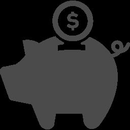 ブタの貯金箱のフリーアイコン アイコン素材ダウンロードサイト Icooon Mono 商用利用可能なアイコン素材が無料 フリー ダウンロードできるサイト