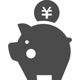 節約が大事 豚の貯金箱アイコン アイコン素材ダウンロードサイト Icooon Mono 商用利用可能なアイコン素材が無料 フリー ダウンロードできるサイト