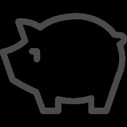 無料で使える豚のイラスト アイコン素材ダウンロードサイト Icooon Mono 商用利用可能なアイコン素材が無料 フリー ダウンロードできるサイト