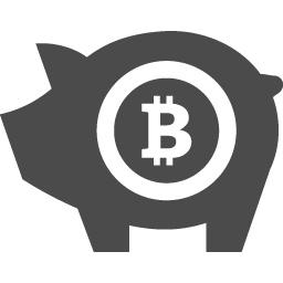 ビットコイン貯金のフリーアイコン アイコン素材ダウンロードサイト Icooon Mono 商用利用可能なアイコン素材が無料 フリー ダウンロードできるサイト