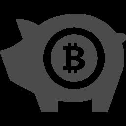 ビットコイン貯金のフリーアイコン アイコン素材ダウンロードサイト Icooon Mono 商用利用可能なアイコン 素材が無料 フリー ダウンロードできるサイト