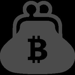 がま口財布のアイコン ビットコイン アイコン素材ダウンロードサイト Icooon Mono 商用利用可能なアイコン 素材が無料 フリー ダウンロードできるサイト