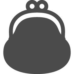 キュートながま口財布アイコン アイコン素材ダウンロードサイト Icooon Mono 商用利用可能なアイコン素材が無料 フリー ダウンロードできるサイト