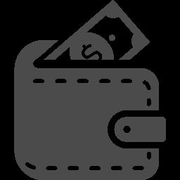 お財布アイコン アイコン素材ダウンロードサイト Icooon Mono 商用利用可能なアイコン素材が無料 フリー ダウンロードできるサイト