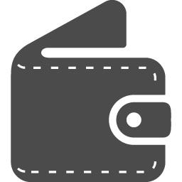 折りたたみ財布のアイコン アイコン素材ダウンロードサイト Icooon Mono 商用利用可能なアイコン素材が無料 フリー ダウンロードできるサイト