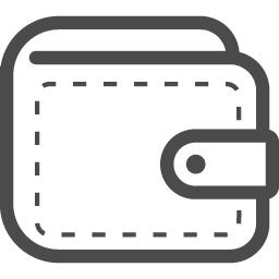 お財布の線画アイコン アイコン素材ダウンロードサイト Icooon Mono 商用利用可能なアイコン素材が無料 フリー ダウンロードできるサイト