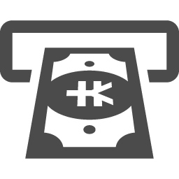 Atmのアイコン 円 アイコン素材ダウンロードサイト Icooon Mono 商用利用可能なアイコン 素材が無料 フリー ダウンロードできるサイト