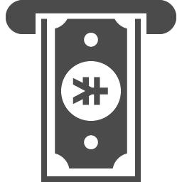 Atmのアイコン2 ビットコイン アイコン素材ダウンロードサイト Icooon Mono 商用利用可能なアイコン 素材が無料 フリー ダウンロードできるサイト