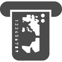 Atmのフリーアイコンです アイコン素材ダウンロードサイト Icooon Mono 商用利用可能なアイコン 素材が無料 フリー ダウンロードできるサイト