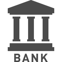 銀行のアイコン アイコン素材ダウンロードサイト Icooon Mono 商用利用可能なアイコン素材が無料 フリー ダウンロードできるサイト