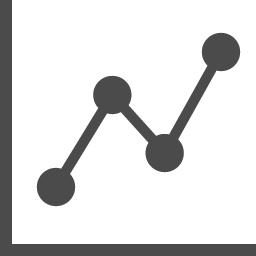 株価グラフのアイコン アイコン素材ダウンロードサイト Icooon Mono 商用利用可能なアイコン素材が無料 フリー ダウンロードできるサイト