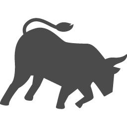 闘牛アイコン アイコン素材ダウンロードサイト Icooon Mono 商用利用可能なアイコン素材が無料 フリー ダウンロードできるサイト