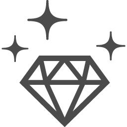 ダイヤモンドのフリーアイコン アイコン素材ダウンロードサイト Icooon Mono 商用利用可能なアイコン素材が無料 フリー ダウンロードできるサイト