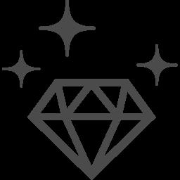 ダイヤモンドのフリーアイコン アイコン素材ダウンロードサイト Icooon Mono 商用利用可能なアイコン 素材が無料 フリー ダウンロードできるサイト