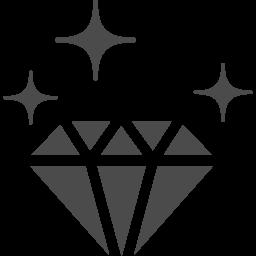 ダイヤモンドのアイコンその2 アイコン素材ダウンロードサイト Icooon Mono 商用利用可能なアイコン素材が無料 フリー ダウンロードできるサイト