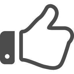 イイネの手のフリーアイコン アイコン素材ダウンロードサイト Icooon Mono 商用利用可能なアイコン素材が無料 フリー ダウンロードできるサイト