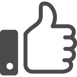 無料のいいねの手のアイコン素材 アイコン素材ダウンロードサイト Icooon Mono 商用利用可能なアイコン 素材が無料 フリー ダウンロードできるサイト