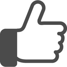 グッジョブの手の無料アイコン2 アイコン素材ダウンロードサイト Icooon Mono 商用利用可能なアイコン素材が無料 フリー ダウンロードできるサイト