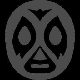 覆面レスラーのフリーアイコン3 アイコン素材ダウンロードサイト Icooon Mono 商用利用可能なアイコン素材が無料 フリー ダウンロードできるサイト
