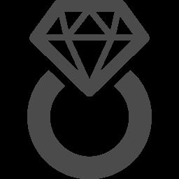 ダイヤの指輪のフリーアイコン アイコン素材ダウンロードサイト Icooon Mono 商用利用可能なアイコン素材が無料 フリー ダウンロードできるサイト