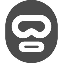 目だし帽のアイコン素材 アイコン素材ダウンロードサイト Icooon Mono 商用利用可能なアイコン素材が無料 フリー ダウンロードできるサイト