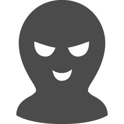 悪意を持つハッカーのアイコン アイコン素材ダウンロードサイト Icooon Mono 商用利用可能なアイコン素材が無料 フリー ダウンロードできるサイト