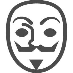 アノニマスのフリーアイコン アイコン素材ダウンロードサイト Icooon Mono 商用利用可能なアイコン素材が無料 フリー ダウンロードできるサイト