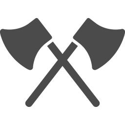 無料で使える斧のアイコン アイコン素材ダウンロードサイト Icooon Mono 商用利用可能なアイコン素材が無料 フリー ダウンロード できるサイト