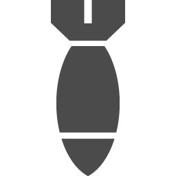 爆弾のフリーアイコン アイコン素材ダウンロードサイト Icooon Mono 商用利用可能なアイコン素材が無料 フリー ダウンロードできるサイト