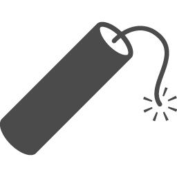 ダイナマイトのアイコン素材 アイコン素材ダウンロードサイト Icooon Mono 商用利用可能なアイコン素材 が無料 フリー ダウンロードできるサイト