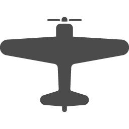 プロペラ機のアイコン アイコン素材ダウンロードサイト Icooon Mono 商用利用可能なアイコン 素材が無料 フリー ダウンロードできるサイト