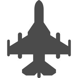 フリーの戦闘機のアイコン アイコン素材ダウンロードサイト Icooon Mono 商用利用可能なアイコン素材が無料 フリー ダウンロードできるサイト