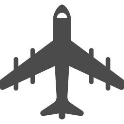 ジェット飛行機のアイコン アイコン素材ダウンロードサイト Icooon Mono 商用利用可能なアイコン素材が無料 フリー ダウンロードできるサイト