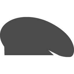 ベレー帽のアイコン素材 アイコン素材ダウンロードサイト Icooon Mono 商用利用可能なアイコン素材が無料 フリー ダウンロードできるサイト